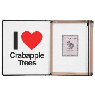 i love crabapple trees iPad case