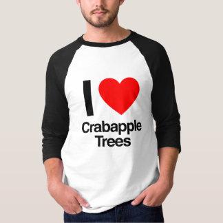 i love crabapple trees shirt