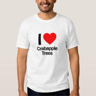 i love crabapple trees tee shirts