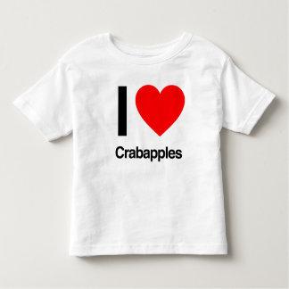 i love crabapples t shirt