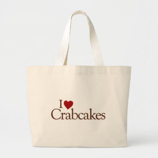 I Love Crabcakes Canvas Bag