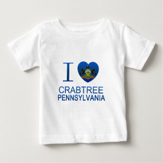 I Love Crabtree, PA Shirts