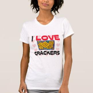 I Love Crackers Tshirt