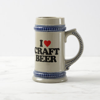 I LOVE CRAFT BEER BEER STEIN
