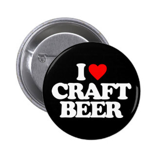 I LOVE CRAFT BEER BUTTON