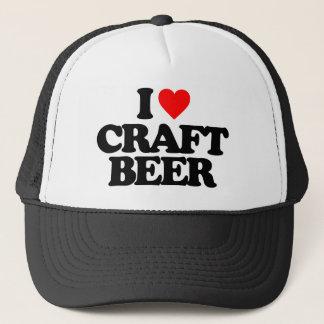 I LOVE CRAFT BEER TRUCKER HAT