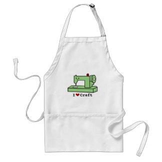 I Love Craft- Kawaii Sewing Machine Adult Apron