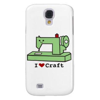 I Love Craft- Kawaii Sewing Machine Samsung Galaxy S4 Case