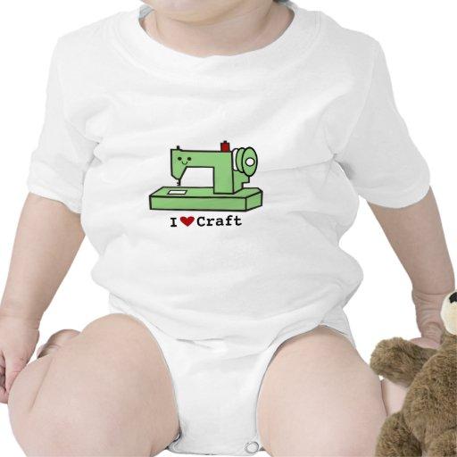 I Love Craft- Kawaii Sewing Machine Bodysuit