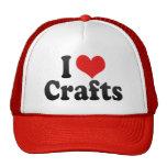 I Love Crafts Mesh Hats