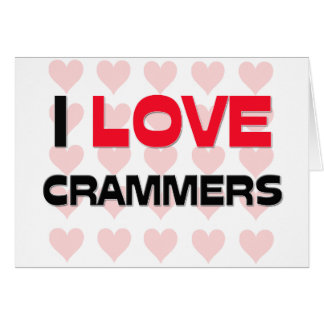 I LOVE CRAMMERS CARD