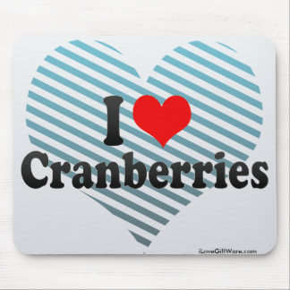 I Love Cranberries Mouse Pad