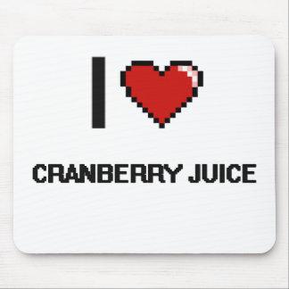 I Love Cranberry Juice Mouse Pad
