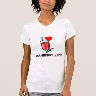 I Love Cranberry Juice T-shirt