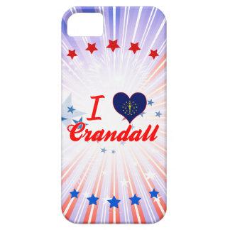 I Love Crandall, Indiana iPhone 5 Case