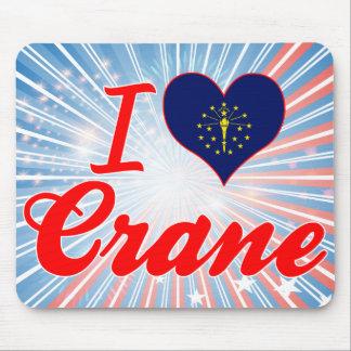 I Love Crane, Indiana Mouse Pads