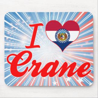 I Love Crane, Missouri Mousepads