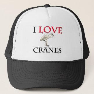 I Love Cranes Trucker Hat