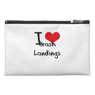 I love Crash Landings Travel Accessory Bags