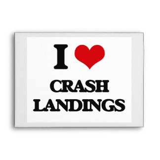 I love Crash Landings Envelope