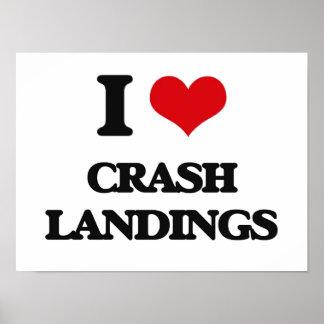 I love Crash Landings Poster