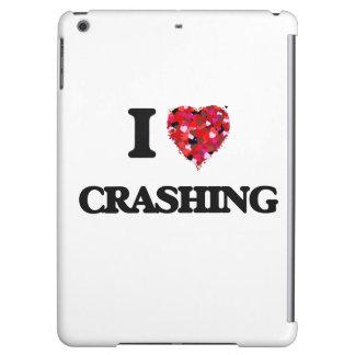 I love Crashing iPad Air Cases