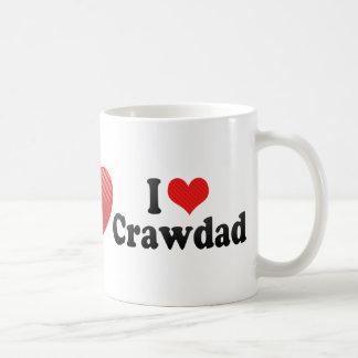 I Love Crawdad Mug
