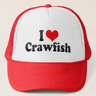 I Love Crawfish Trucker Hat