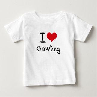I love Crawling Tee Shirts