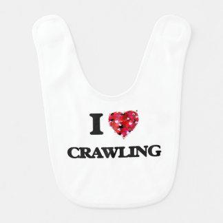 I love Crawling Bib