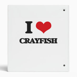 I love Crayfish Vinyl Binders