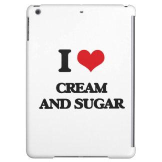 I love Cream And Sugar iPad Air Cases