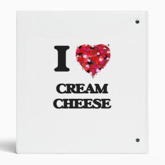 I love Cream Cheese 3 Ring Binders