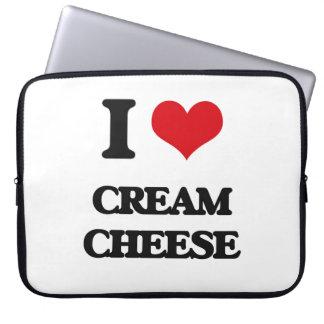 I love Cream Cheese Laptop Computer Sleeve