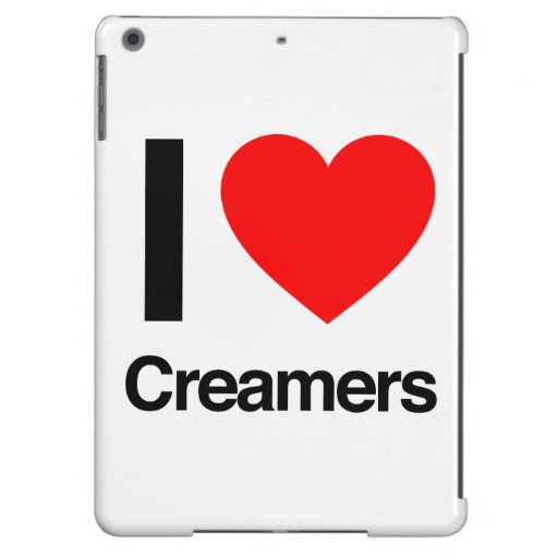 i love creamers iPad air cover