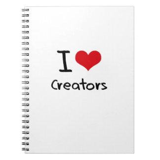 I love Creators Journals