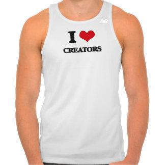I love Creators Tshirts