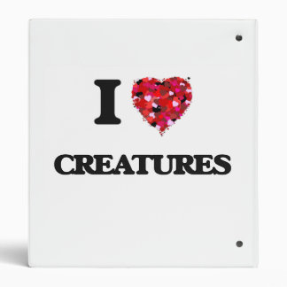 I love Creatures 3 Ring Binders