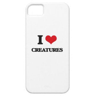 I love Creatures iPhone 5 Cover