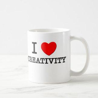 I Love Creatures Classic White Coffee Mug