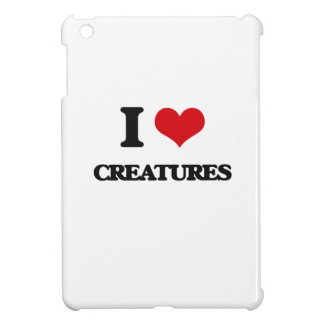 I love Creatures iPad Mini Covers