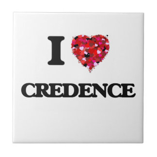 I love Credence Small Square Tile