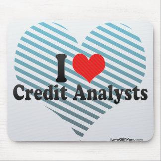I Love Credit Analysts Mousepad