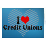 I Love Credit Unions Cards