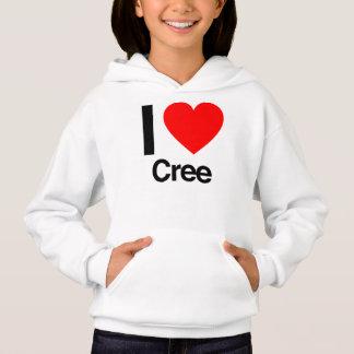 i love cree hoodie