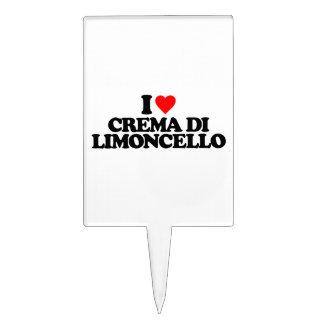 I LOVE CREMA DI LIMONCELLO CAKE TOPPER