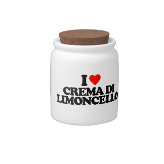 I LOVE CREMA DI LIMONCELLO CANDY DISH