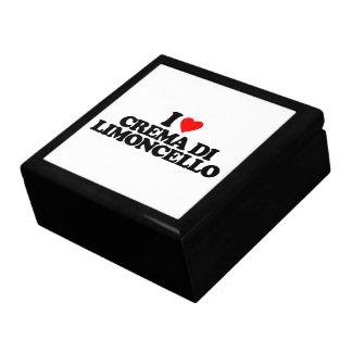 I LOVE CREMA DI LIMONCELLO JEWELRY BOX