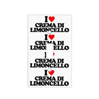I LOVE CREMA DI LIMONCELLO LIGHT SWITCH COVER