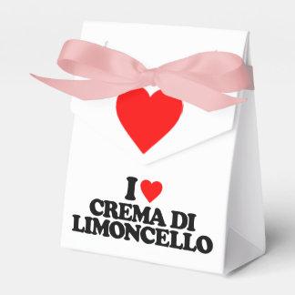 I LOVE CREMA DI LIMONCELLO PARTY FAVOR BOX